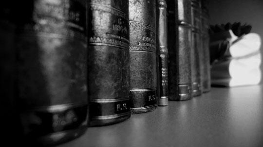 Experiencia como avogados, material xurídico
